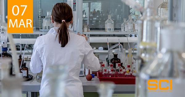 análisis químico en metales