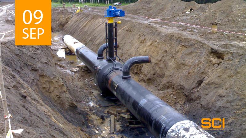 inspección gaseoducto
