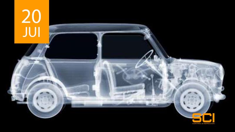 radiografia indutrial para piezas de automovil