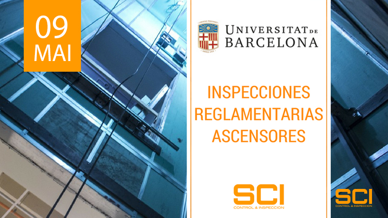inspección reglamentaria de ascensores en barcelona